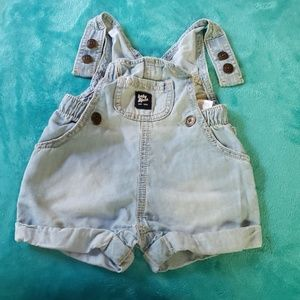 Baby B'gosh Lyocell Cotton Blend Short Overall